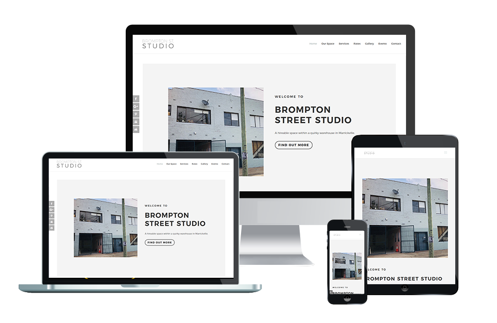 brompton st studio website