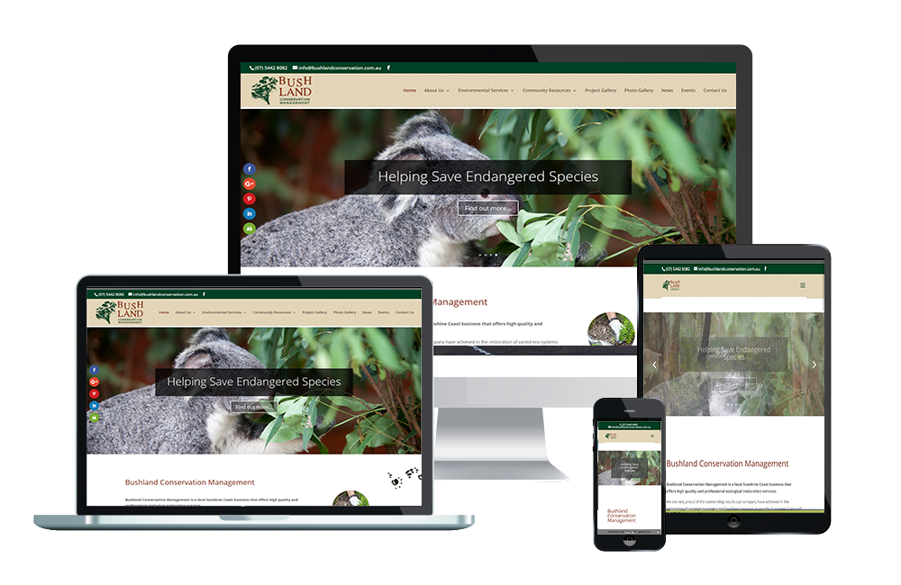 bushland conservation website