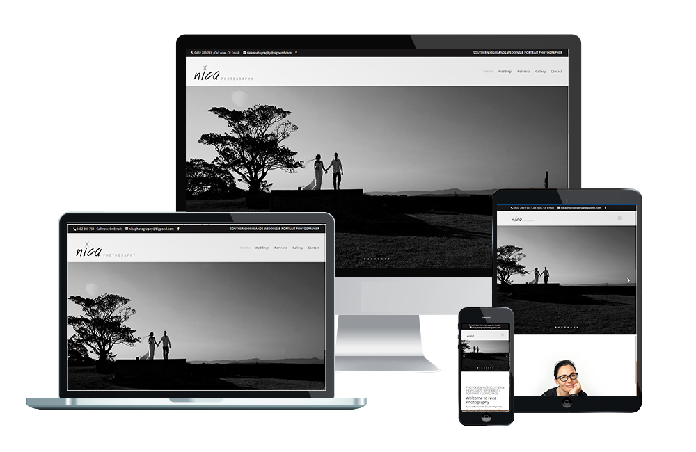 nica photograhy website