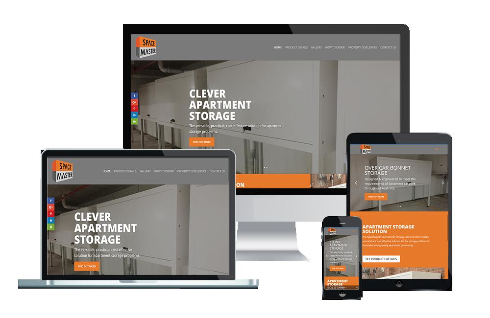space master storage website