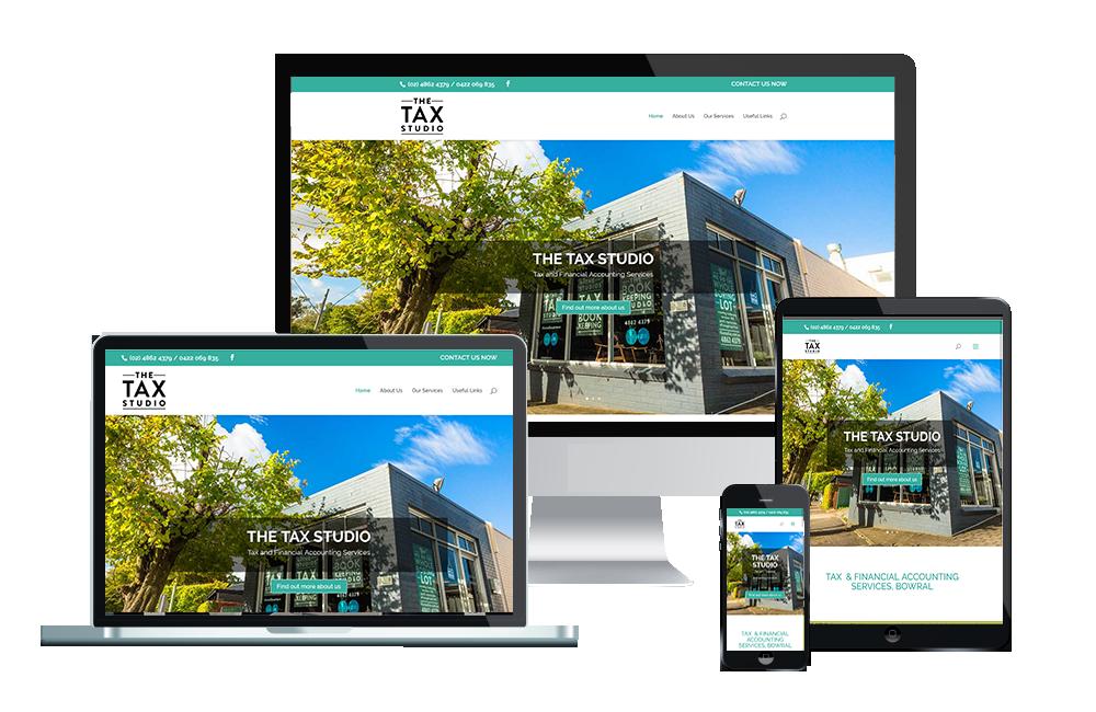 the tax studio website